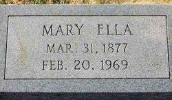 Mary Ella <I>Franklin</I> Wilkey