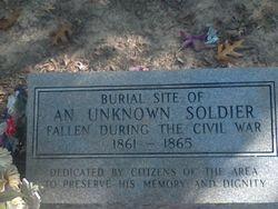 Civil War Soldier Gravesite