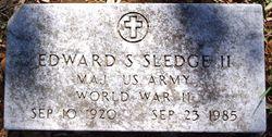 Maj Edward Simmons Sledge, II
