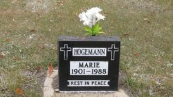 Marie <I>Schleper</I> Hogemann