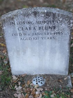 Clara <I>Jeaps</I> Blunt