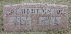"Mary Josephine ""Josie"" <I>Wood</I> Albritton"