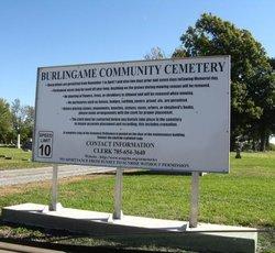 Burlingame City Cemetery