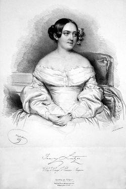 Jenny <I>Lutzer</I> Dingelstedt