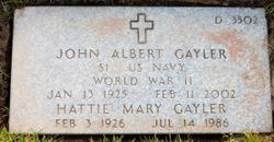 Hattie Mary Gayler