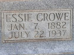 Essie <I>Crowe</I> Burns