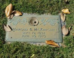 Harold Briggs McKnight, Jr