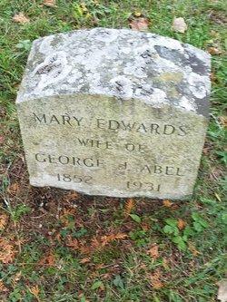 Mary <I>Edwards</I> Abel