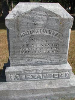 Emily J <I>Ducker</I> Alexander