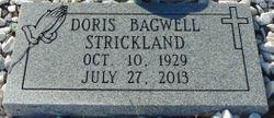Doris <I>Bagwell</I> Strickland