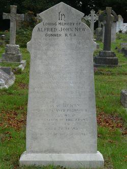 Alfred John New