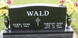 Timothy John Wald 1962 2008 Find A Grave Memorial