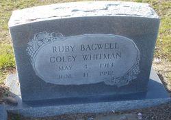 Ruby <I>Bagwell</I> Coley Whitman