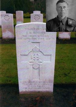 Private James Henry Rimmer