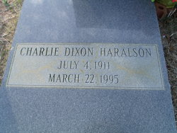 Charlie Dixon Haralson
