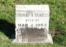 Dr Thomas Ash Keables