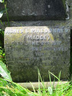 """Agnes Curran """"Madge"""" Macdonald"""