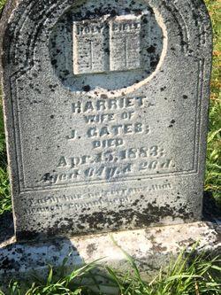 Harriet J Gates