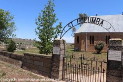 Cassilis Catholic Cemetery in Cassilis, New South Wales ...