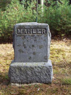Elizabeth C. <I>Isencart</I> Mahler