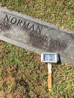 Mildred <I>Bryant</I> Norman