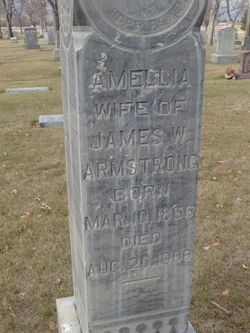 Amelia Schmidt Armstrong (1866-1908) - Find A Grave Memorial