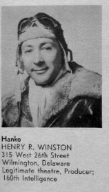 Lieut Henry R. Winston