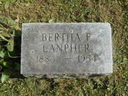 Bertha Frances <I>Turner</I> Lanpher