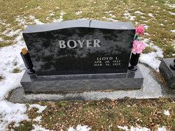 Lloyd LuVerne Boyer