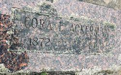Cora Elizabeth <I>Pratt</I> Ackerman