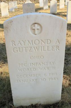 PFC Raymond A Gutzwiller