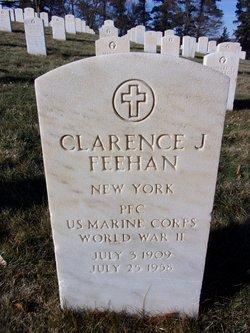 Clarence J Feehan