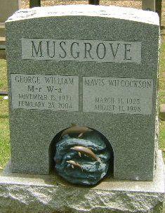 Mavis <I>Wilcockson</I> Musgrove