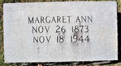 Margaret Ann <I>Bagwell</I> Shepherd
