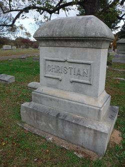 Lieut William Jasper Christian