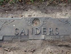 Annie Mae <I>Hughes</I> Sanders