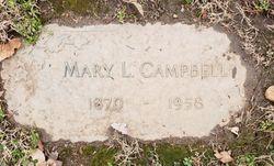 """Mary Louise """"Mae"""" <I>Shaw</I> Campbell"""
