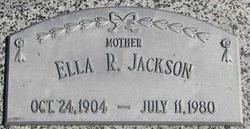 Ella R <I>Nelson</I> Jackson