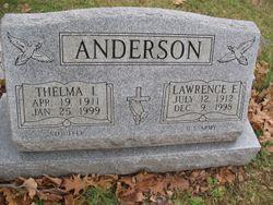 Thelma I <I>McGiffin</I> Anderson