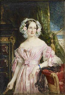 "Anna Feodora Augusta Charlotte Wilhelmine ""Feodora"" <I>Leingingen</I> Hohenlohe-Langenburg"