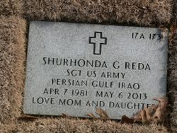 Sgt Shurhonda Gail <I>Pierce</I> Reda