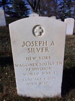Joseph A Silver
