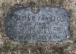 PFC Joseph P Zarillo