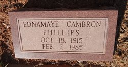 Ednamaye <I>Cambron</I> Phillips