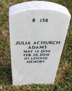 Julia <I>Achurch</I> Adams