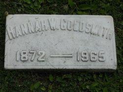 Hannah <I>Wallenstein</I> Goldsmith