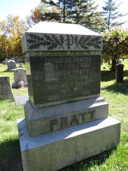 Dorcas N <I>Grant</I> Pratt