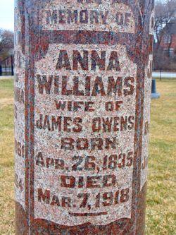 Anna <I>Williams</I> Owens