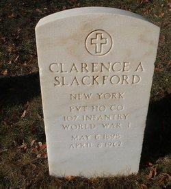 Clarence A Slackford