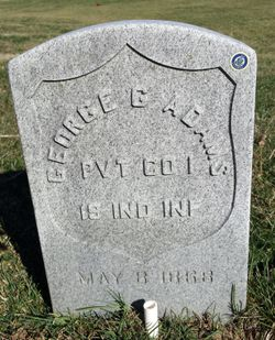 Pvt George G. Adams